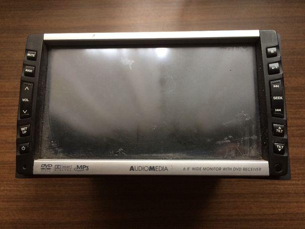 Обмен автомагнитола с дисплеем и проигрывателем DVD Audiomedia FMS476а