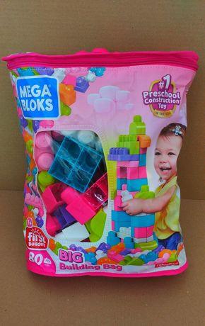 Классический конструктор для девочек в мешке Mega Bloks First Builders