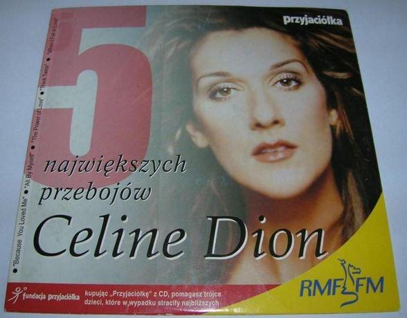 CD CELINE DION 5 Największych przebojów