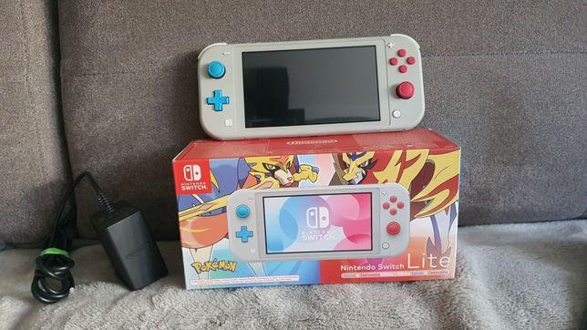 Nintendo Switch Lite (Zacian & Zamazenta) + Etui