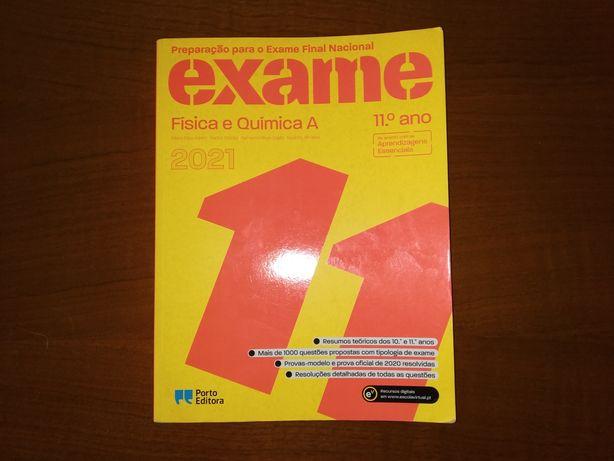 Livro Preparação para o Exame Final Nacional 2021 - Física e Quimica A