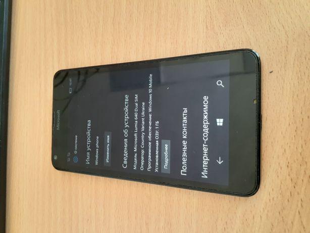 Телефон Lumia 640 Microsoft
