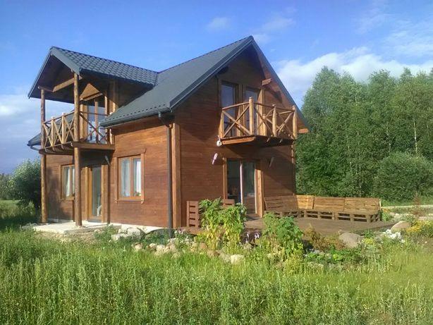 Dom ze stawem na wsi do wynajęcia - 40 km od białegostoku