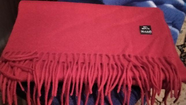 100 п Шерстяной шарф