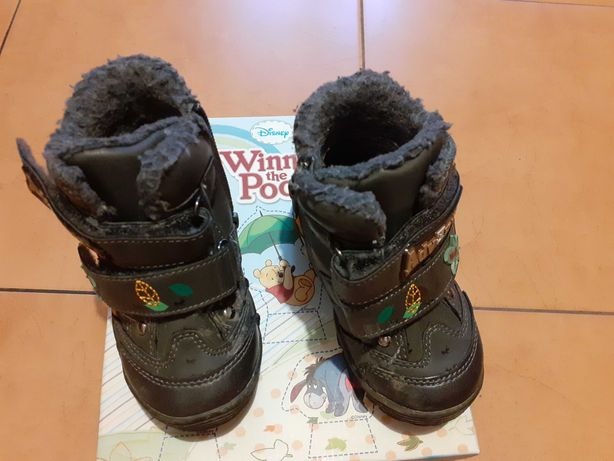 Buty zimowe chłopięce 22