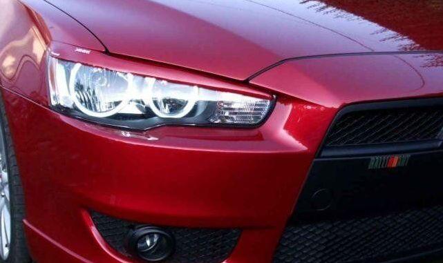 Реснички на фары Mitsubishi Lancer/Outlander/Pajero Wagon