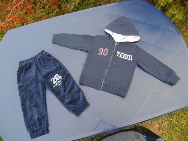 Zestaw 98/104 Bluza i spodnie dresowe na 3-4 lata