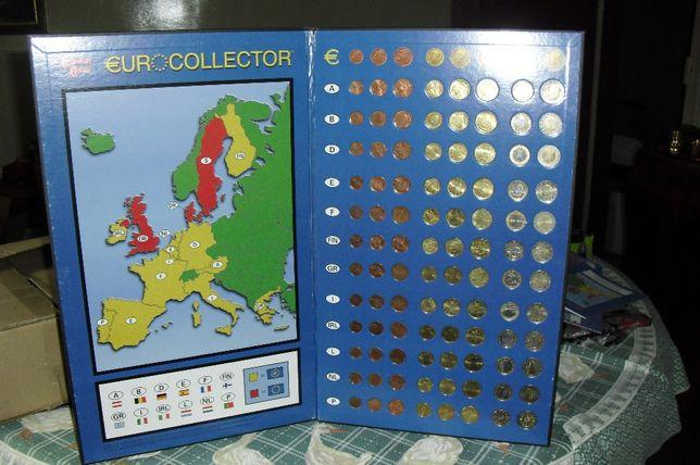 Vendo caderno completo com todas as moedas dos 12 primeiros países €