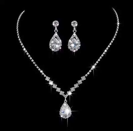 Piękna srebrna biżuteria