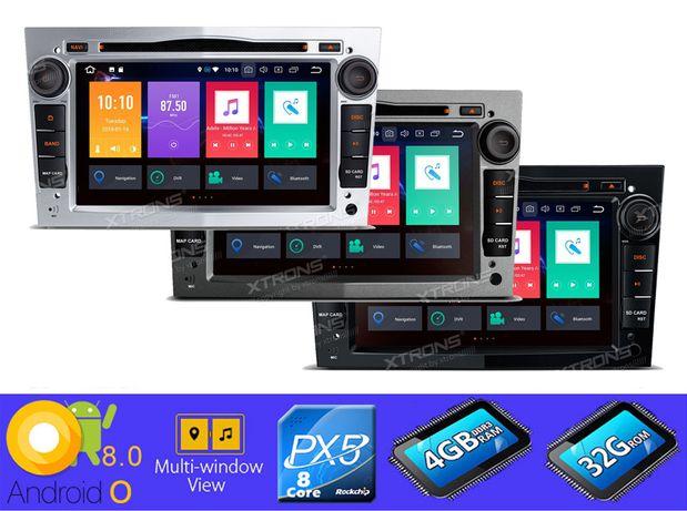 "Rádio OPEL Android 8 Octa-Core Ecrã 7"" HD 4GB RAM Wifi GPS Bluetooth"