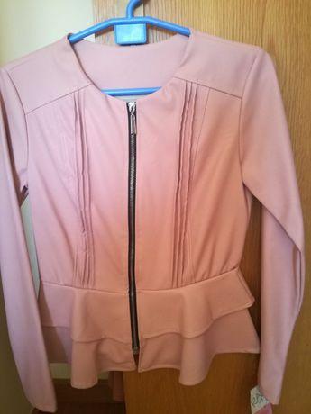 Casaco rosa. Tamanho s. Novo com etiqueta.