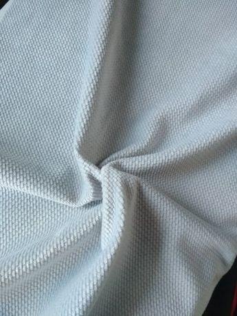 Promocja 22 zł/m Velvet tkanina w szarym kolorze