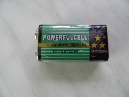 Аккумулятор батарейка 6F22 9v
