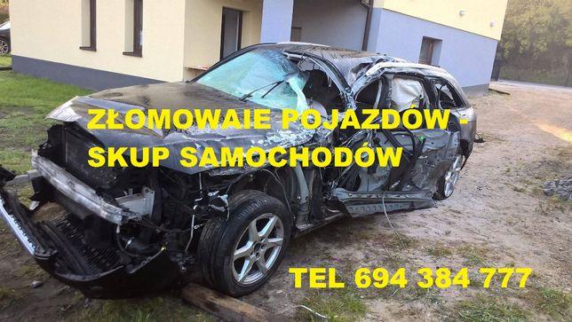 Pomoc Drogowa 24h - Skup Samochodów - Złomowanie - gotówka od ręki !