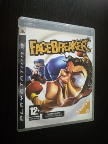 Gra PS3 Face Breaker | U mnie Playstation, GTA, LEGO, GT, PVZ, MOVE