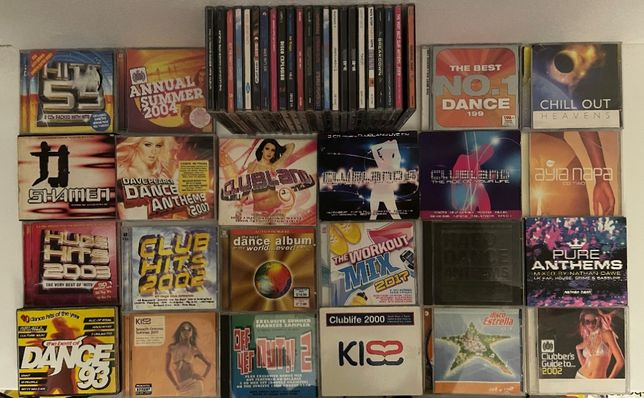 44 CD Musica - Dança, electronica, breakdown