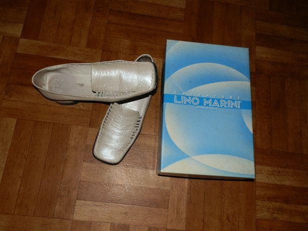 туфли кожаные женские,размер 38-Италия