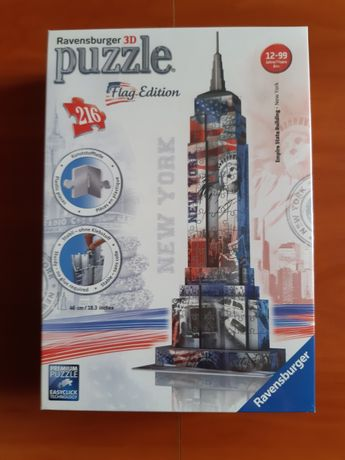 Puzzle 3D-Empire State Bullding
