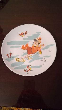 тарелка детская ГДР