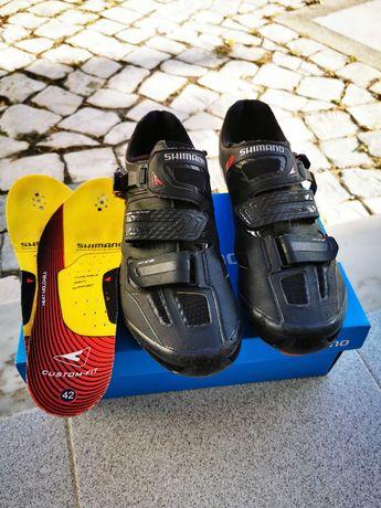 sapatos de btt n42