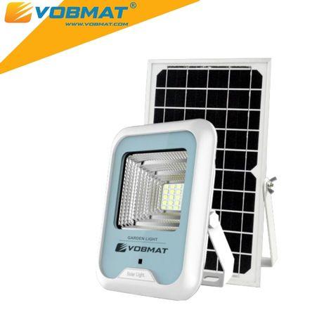 Lampa solarna LED GARDEN 8W, 4h ładowania = 20h świecenia INNOWACJA