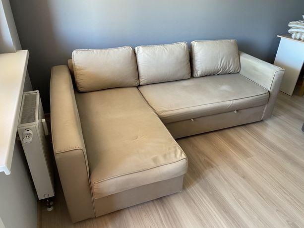 Narożnik z funkcja spania IKEA MANSTAD kanapa, sofa