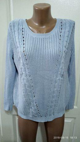 Джемпер, свитер крупной вязки