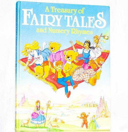"""СКАЗКИ (сборник) """"Treasury of Fairytales"""" детская книга на английском"""