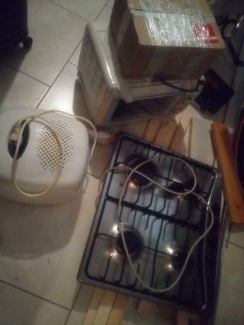 Frytkownica Philips, piecyk ,grill el. okap, płyta gazowa Mastercook