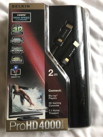 Кабель BELKIN ProHD 4000 HDMI 2м Black