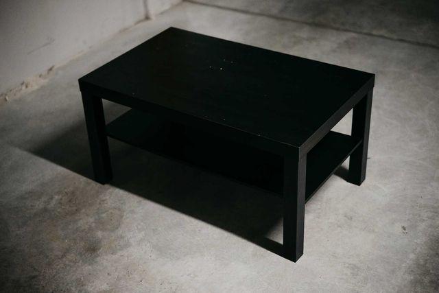 Stolik kawowy IKEA LACK czarny 90 x 55 cm
