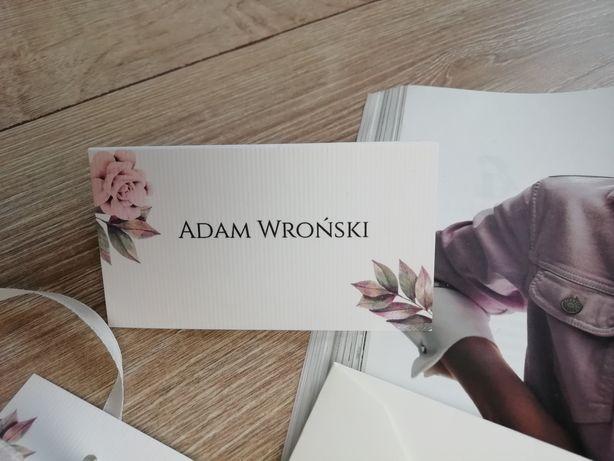Winietka ślubna z różą śliczna