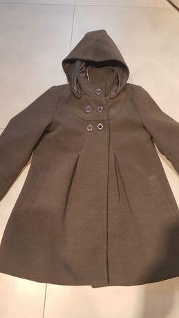 Płaszczyk zimowy dla dziewczynki rozmiar 116 -122