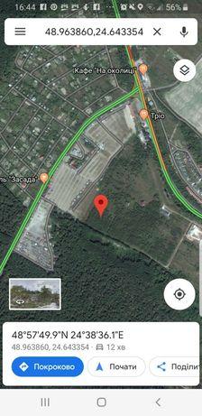 Калушське шоссе.10сотих під будівництво 6000$.