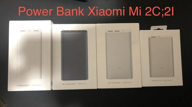 Power Bank Xiaomi Mi   ВСЕ Модели ОРИГИНАЛ!!!  