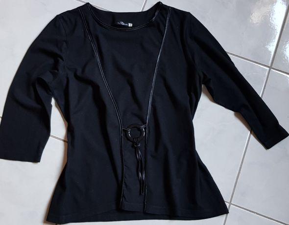 bluzka elegancka zdobiona aplikacja uniwersalna codzienna kobieca