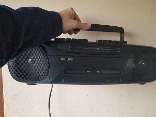Radio magnetofon philips AW 7010/00 sprawne