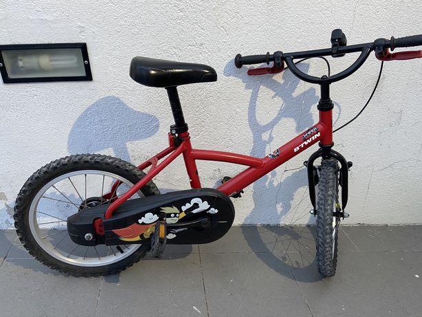 Bicicleta criança 3/6 anos