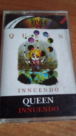 Queen – Innuendo, 1991 , KASETA MAGNETOFONOWA polska