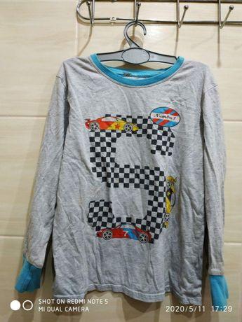Реглан футболка с длинным рукавом на 7-9 лет