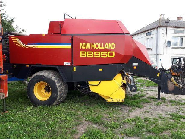 Pilnie NEW HOLLAND BB 950 – prasa kostkujaca, duza kostka,