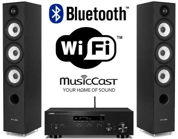 Yamaha R-N303D + Pylon Audio Pearl 27 - dostawa gratis !!!