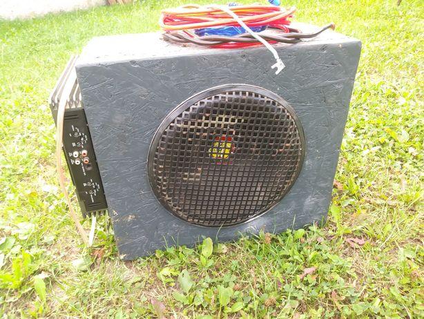 Tuba 800W + Wzmacniacz i kable