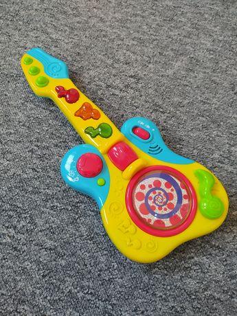 Zabawki edukacyjne samochodzik klocki gitara zabawkowa