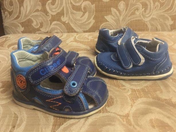 Продам кожаные детские сандалики- ортопеды