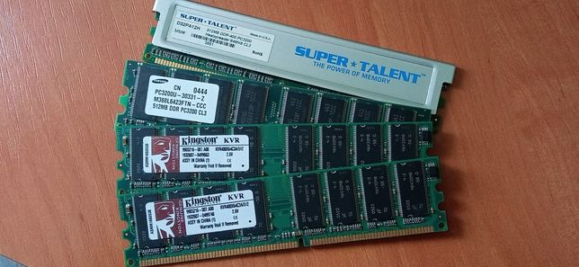 Пам'ять ПК DDR, DIMM
