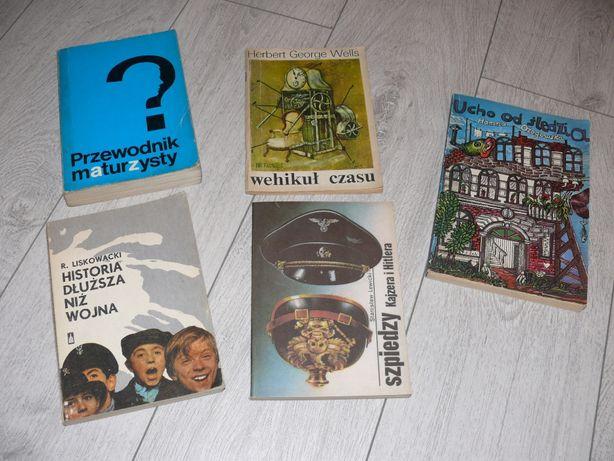 Książki różne -- oddam za darmo