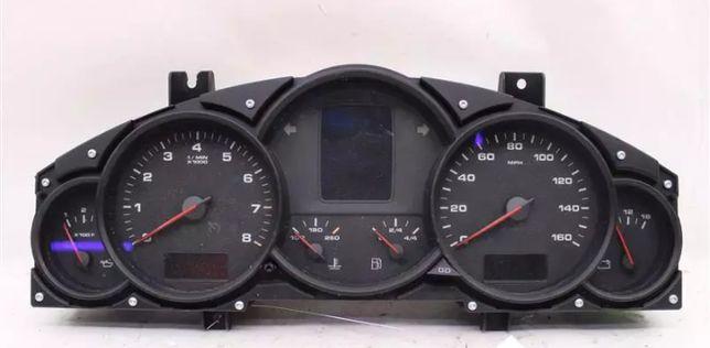 Porsche Cayenne display lcd novo para quadrante reparaçao com garantia