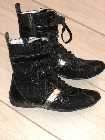 Ботинки кеды кроссовки сапожки Guess оригинал р38
