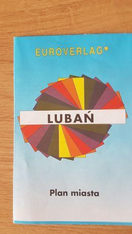 Lubań.Pllan miasta. Euroverlag